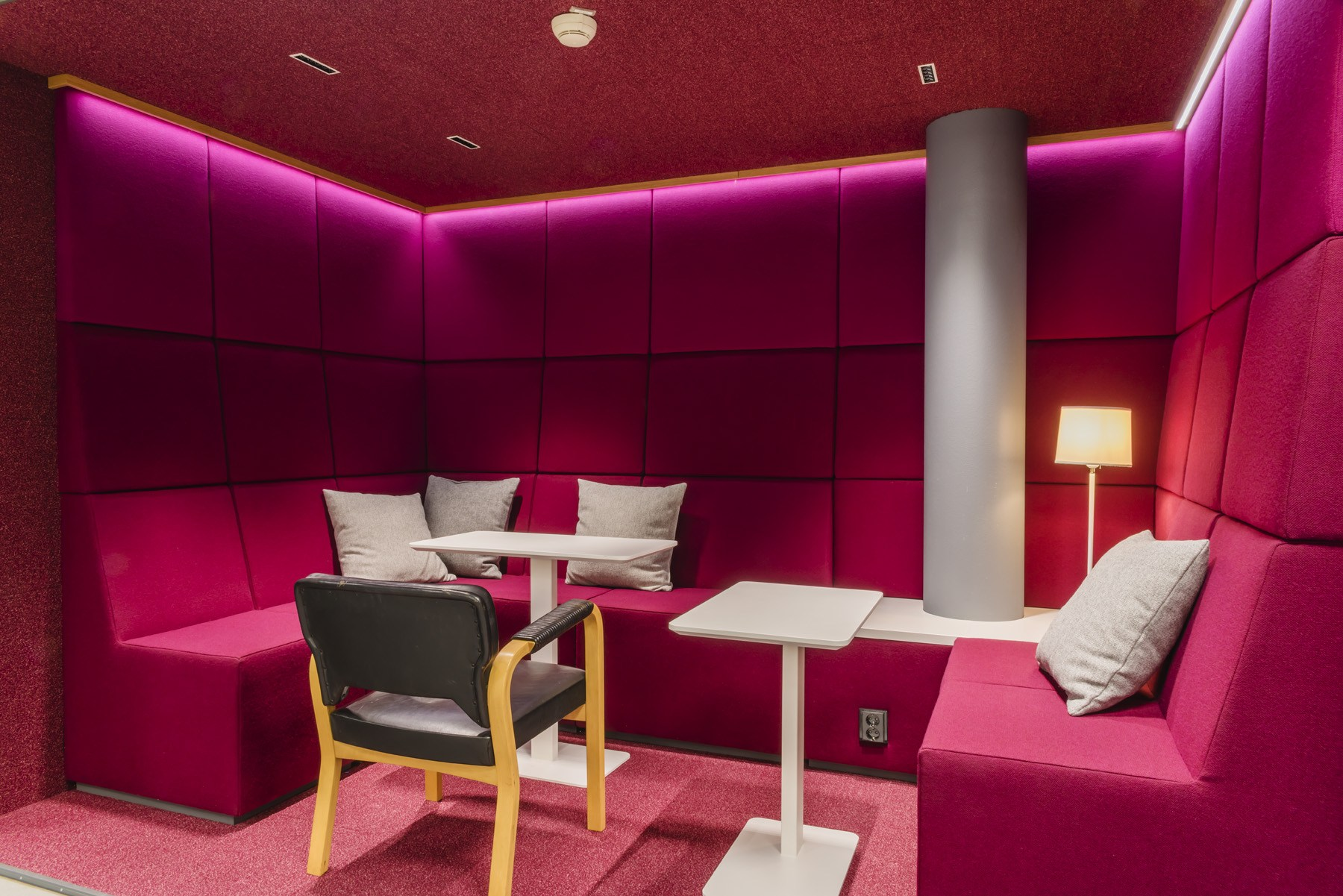 Acoustic study: INTO furniture reduces office noise pollution - Nordea