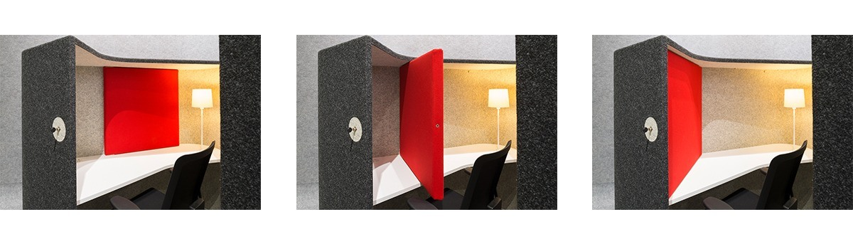 Activity-based office: Storage space - INTO the Nordic Silence