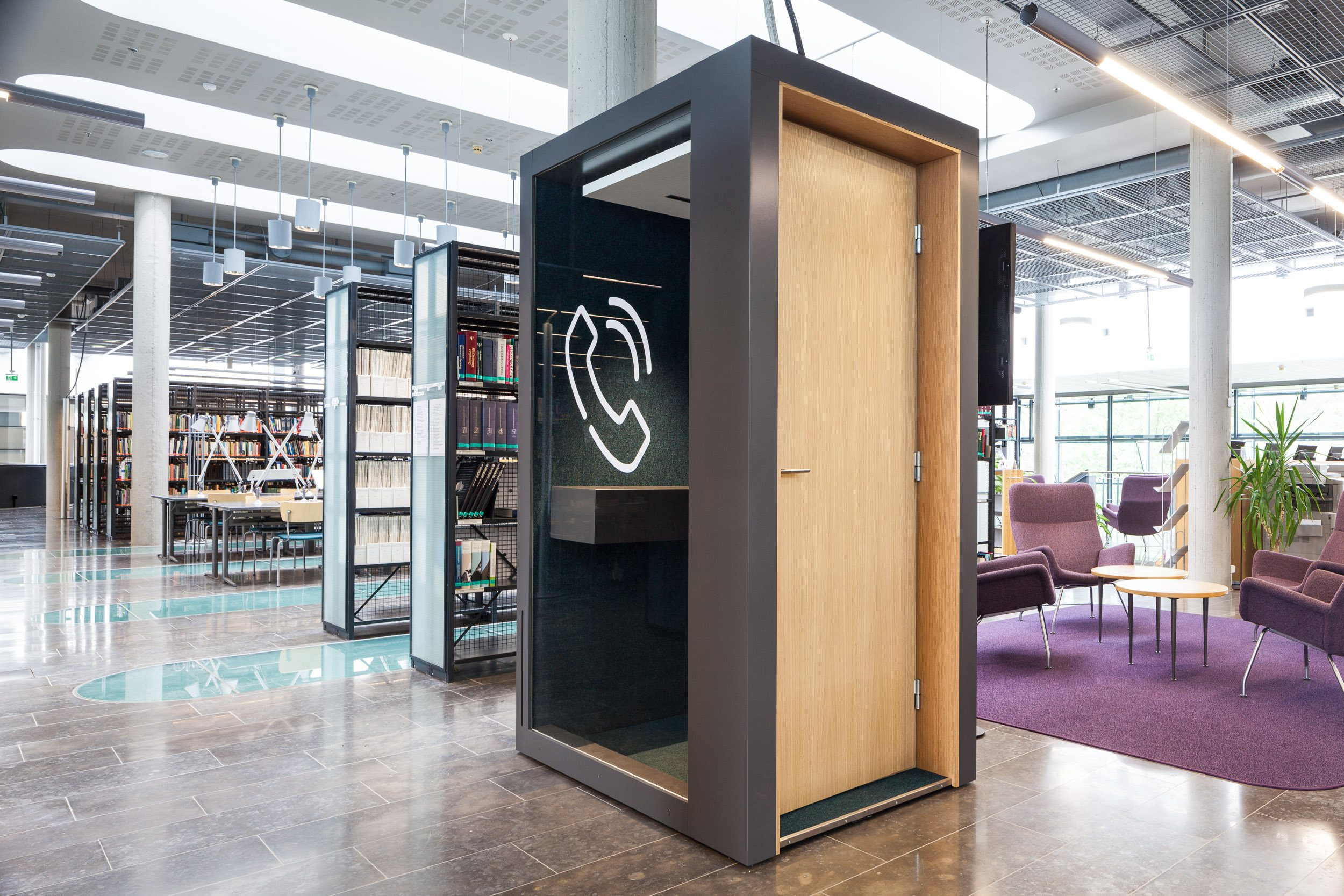 Sound Proof Pod Phone Booth For Offices Into The Nordic