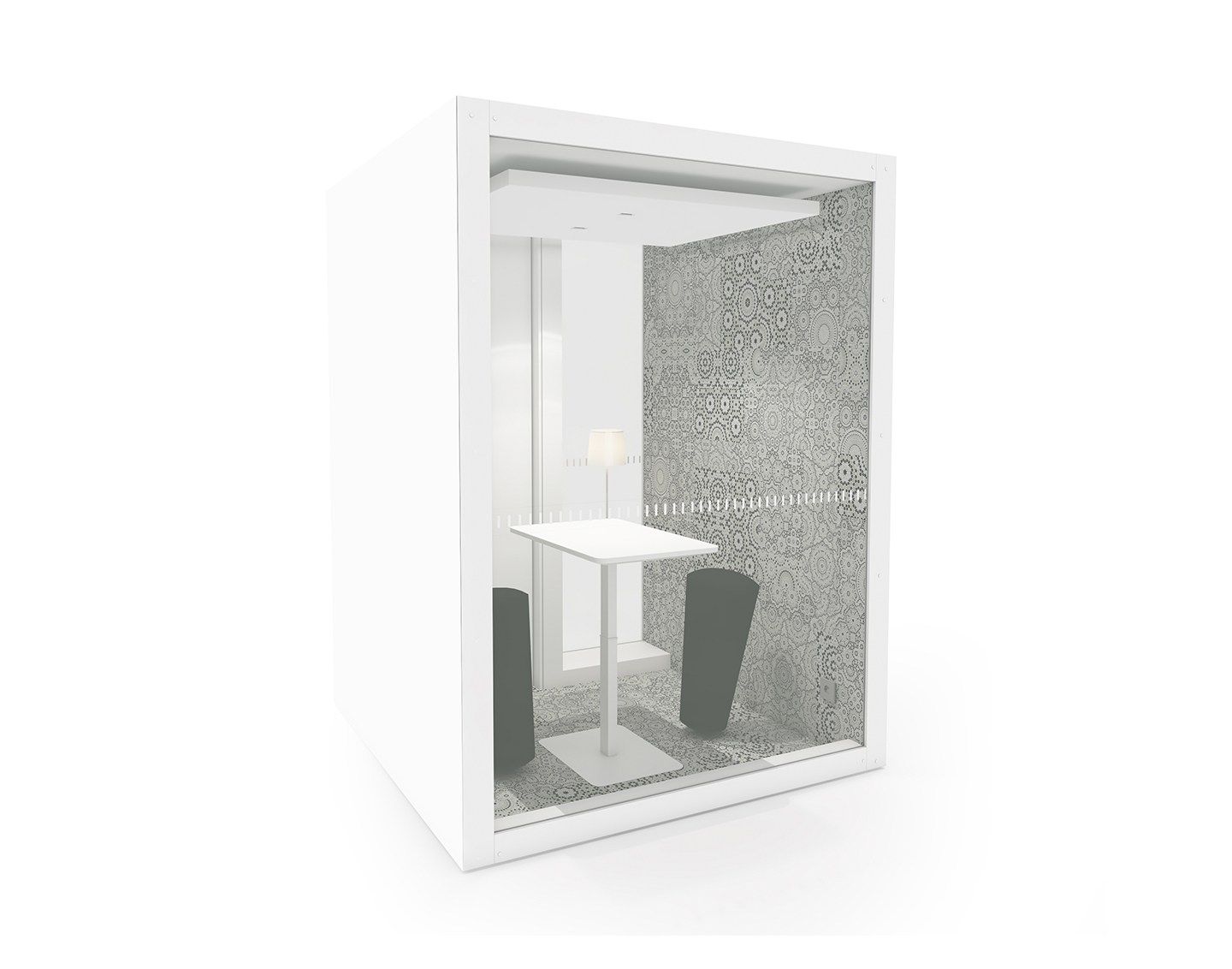 Pod 1 Glass Is Concentration Workspace Into The Nordic