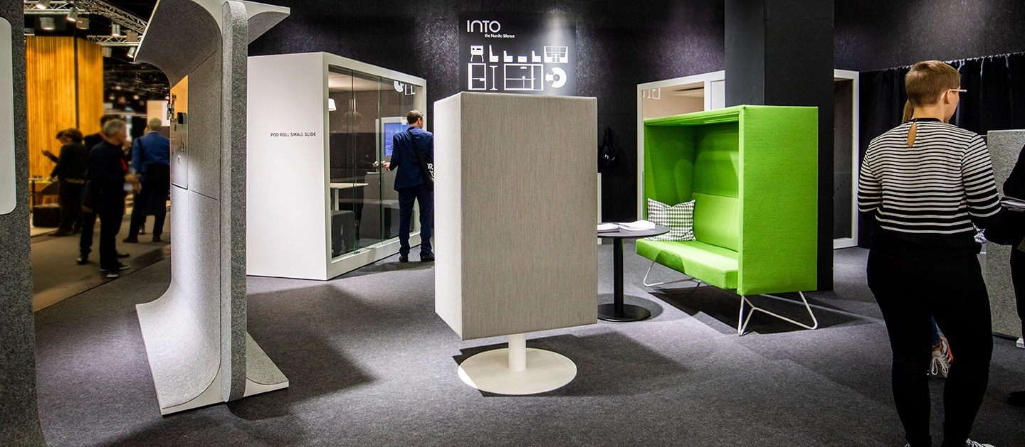 Thank you for visiting our stand in Orgatec - INTO the Nordic Silence exhibition booth