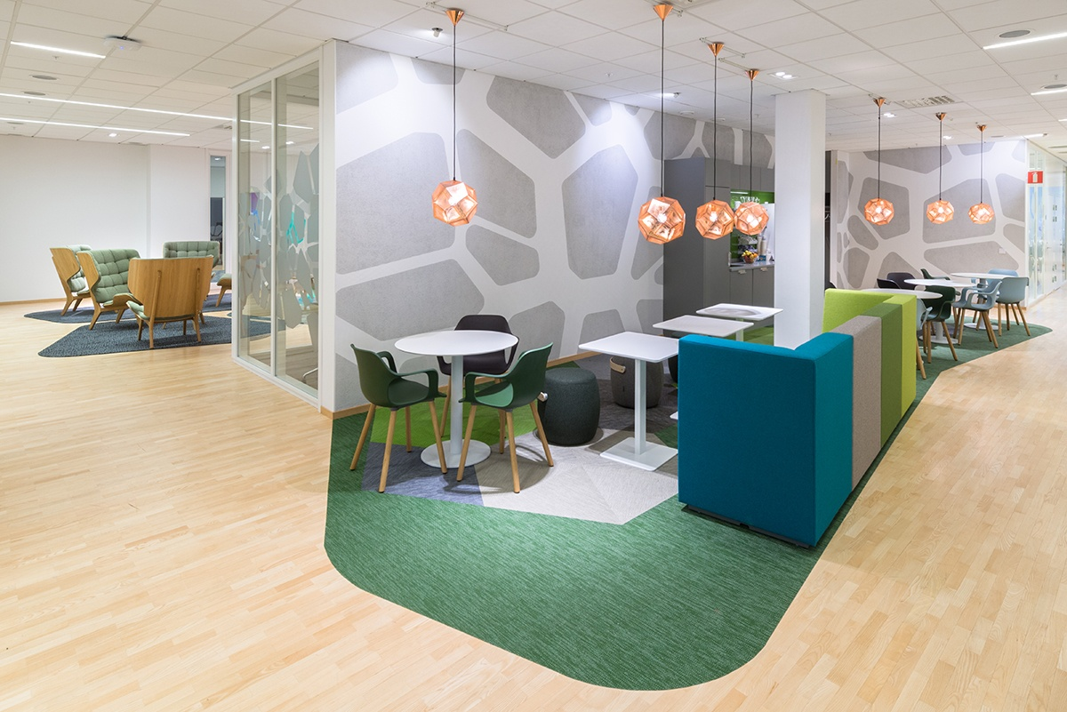 From closed rooms to activity-based offices - INTO the Nordic Silence