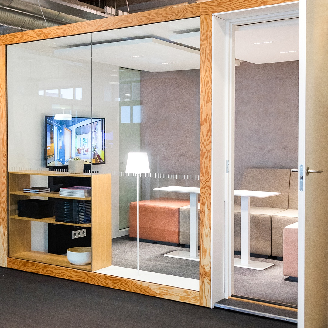 Lease an acoustic office phone booth - POD 4 - INTO the Nordic Silence